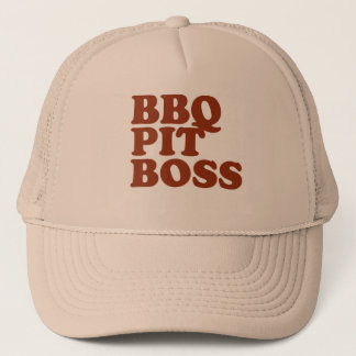 BBQ Pit Boss Trucker Hat