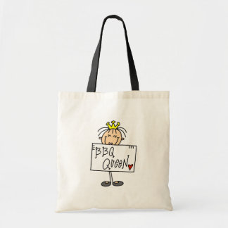 BBQ Queen Tote Bags