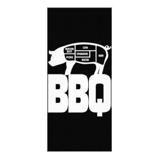 BBQ RACK CARD DESIGN