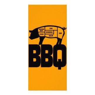 BBQ RACK CARDS