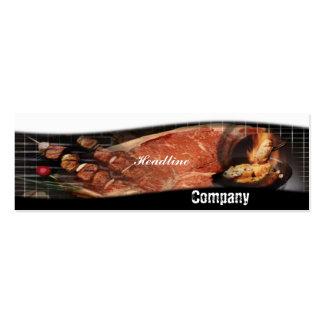 BBQ Recipes Business Card