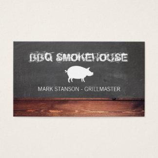 BBQ Restaurant / Pig Business Card
