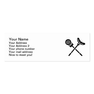BBQ sausage meat Business Card