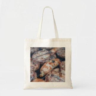 BBQ Sausages Tote Bag