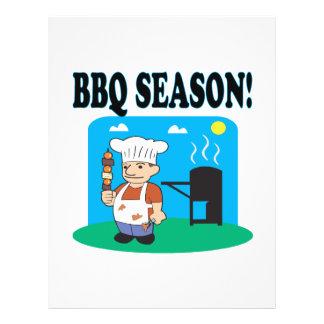 BBQ Season 2 21.5 Cm X 28 Cm Flyer