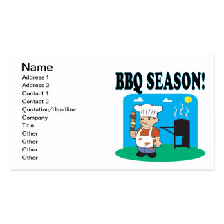 BBQ Season 2 Pack Of Standard Business Cards