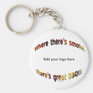 BBQ Smoke Key Ring