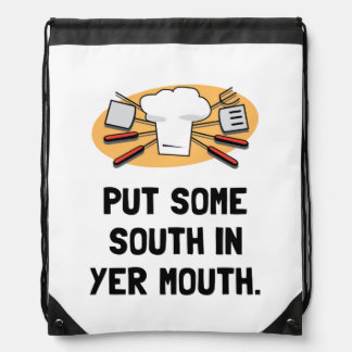 BBQ South In Mouth Backpack