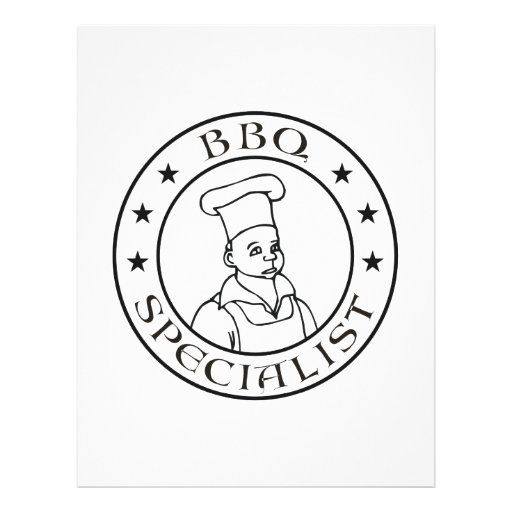 BBQ Specialist Custom Flyer