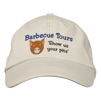 BBQ Tours Twill Hat Embroidered Cap