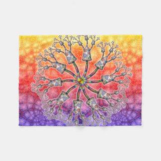BBQSHOES:Fngs Amngs Psychedelic Digi-Art Blanket