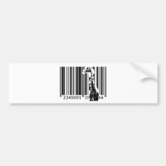 bc01 Bar Code Art Design Vector Fun Color Bumper Stickers