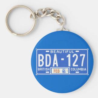 BC86 BASIC ROUND BUTTON KEY RING