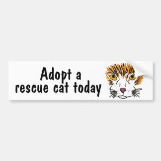 BC- Adopt a Rescue at Today Bumper Sticker
