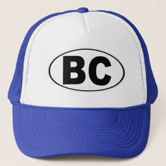 BC Boulder City Nevada Trucker Hat