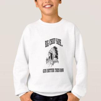 BC gun better then bow Sweatshirt