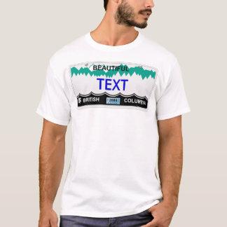 BC license plate T-Shirt