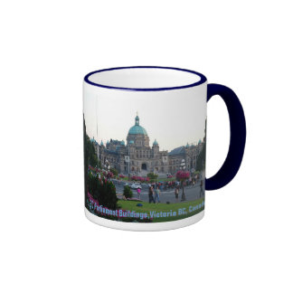 BC Parliament Buildings/Victoria BC Canada Coffee Mugs