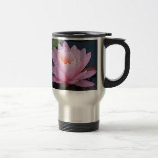 BC- Pink Water Lily Travel Mug
