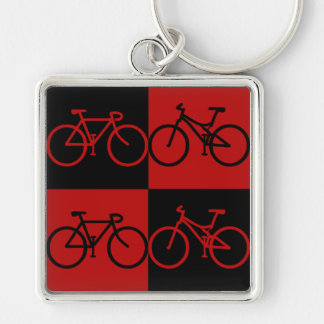 BCF Black and Red Bike Keychain