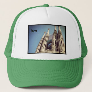bcn gaudi trucker hat