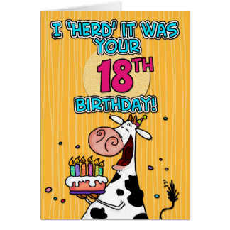 bd cow - 18 card
