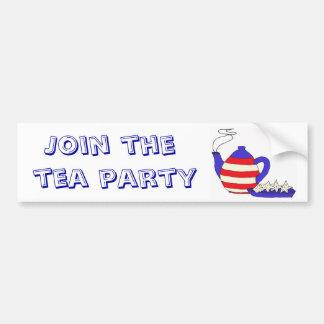 BD- Join the Tea Party Sticker Bumper Sticker