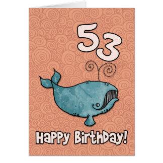 bd whale - 53 card