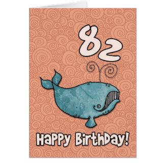bd whale - 82 card