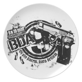 BDA 9 Melamine Plate Melamine Plate