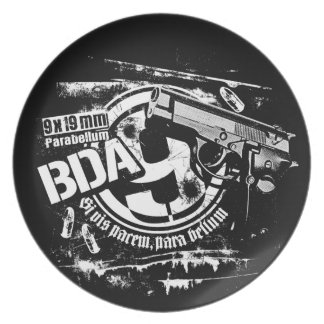 BDA 9 Plate Melamine Plate