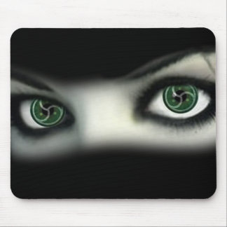 BDSM EYES MOUSE PAD