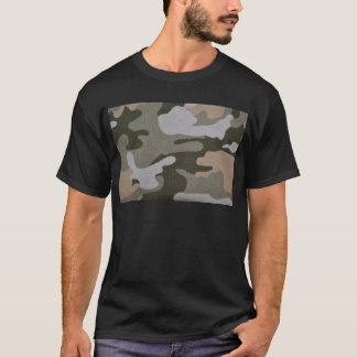 BDU Camouflage Military Pattern Peace Destiny T-Shirt
