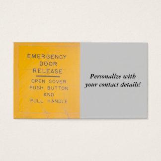 BE-18 Emergency Door Release Design
