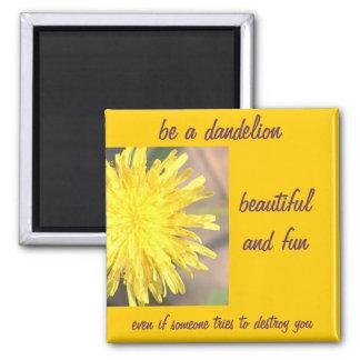 Be a Dandelion Refrigerator Magnet