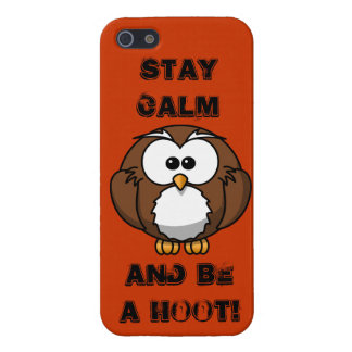BE A Hoot iPhone 5/5S Cover