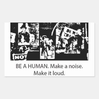 Be A Human sticker