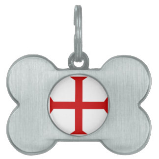Be a Knight Templar! Pet ID Tag