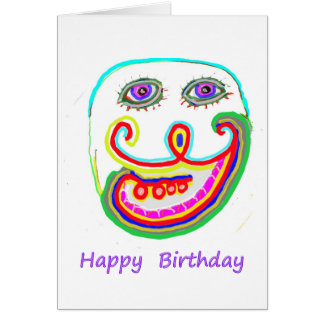 Be a Leader - Be Different :  Happy Birthday Greeting Card