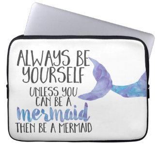 Be a Mermaid 13 inch Laptop Sleeve