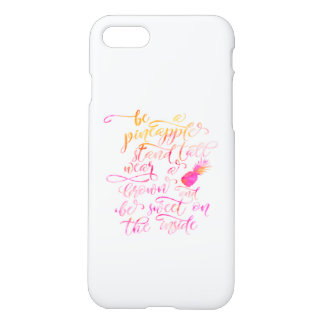 BE A pin Apple: stood tall, wear A crown, for BE iPhone 8/7 Case