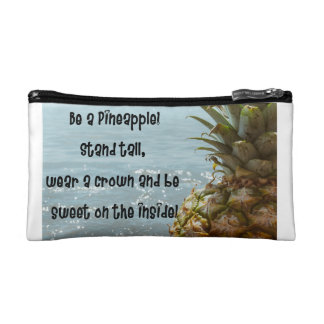 Be a pineapple cosmetic bags