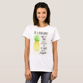 Be a Pineapple Short-Sleeve Summer Tee Shirt