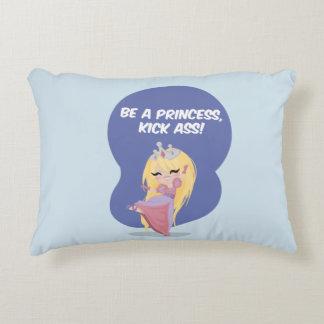 Be a princess, kick ass! - Pillow