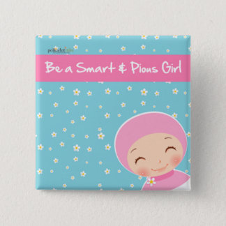 Be A Smart & Pious Girl Badge