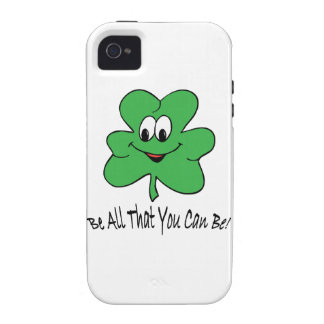 Be all that you can be ! vibe iPhone 4 cover