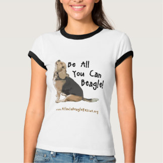 Be All You Can Beagle(TM) Women's Ringer Tee