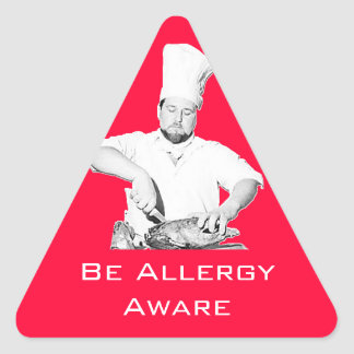 Be Allergy Aware Sticker