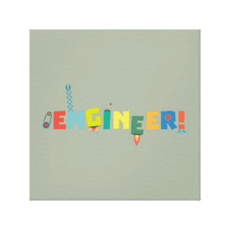 Be an Engineer with Tools Z8c69 Canvas Print