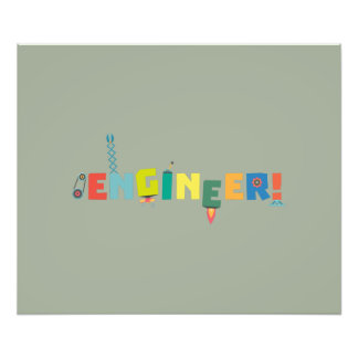 Be an Engineer with Tools Z8c69 Photo Print